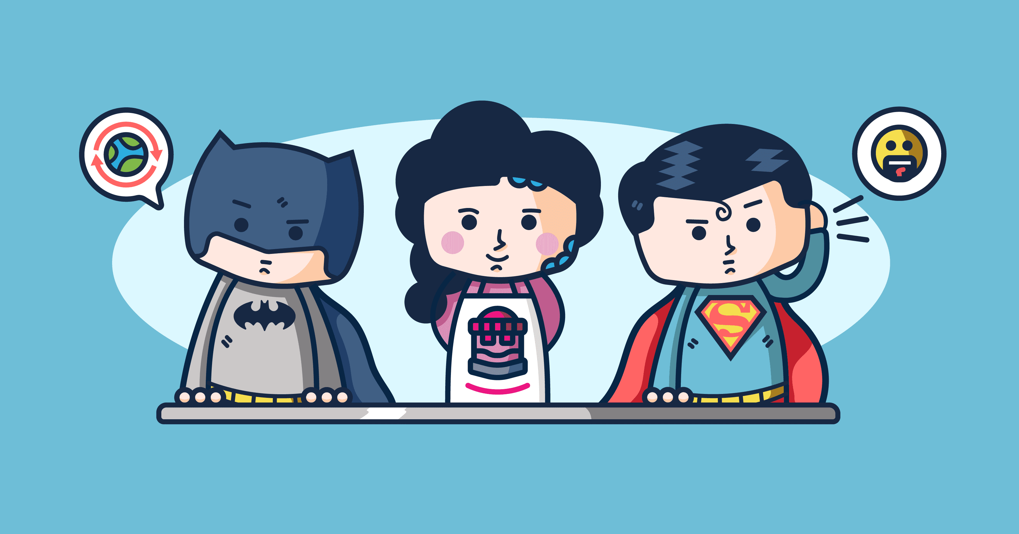 If Superheroes (and Villains) Worked in Customer Service