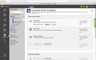 LiveAgent Costumer Email Templates