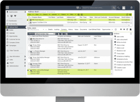 Maximizer CRM Address Book