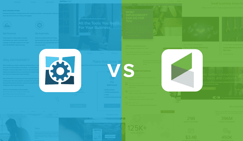 Ontraport vs. Infusionsoft: The Ultimate 2018 Comparison