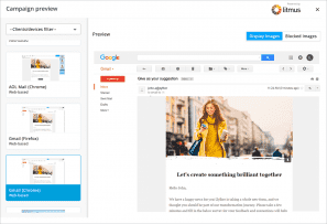 Zoho Campaigns Campaign Preview