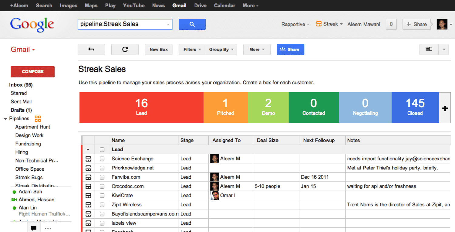 Top 7 Gmail CRM Integrations for Chrome Users