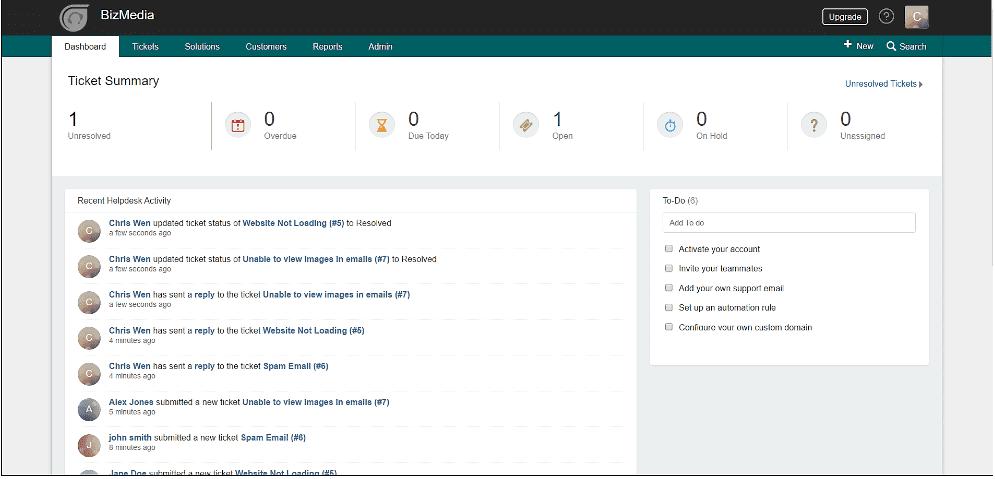 Freshdesk instant add feature